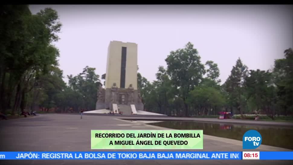 maestro Armando Ramírez, recorrer, Jardín de la Bombilla, Miguel Ángel de Quevedo