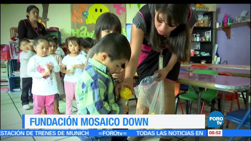 Héctor Alonso, reportaje, Fundación, Mosaico Down
