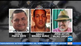PGR, identificar, probables homicidas, periodistas