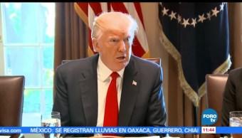 presidente de EU, Donald Trump, sistema de salud, Obamacare, Barack Obama