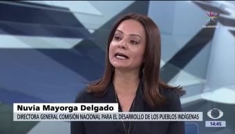 Nuvia Mayorga Delgado, titular de la Comisión de de los Pueblos Indígenas, paraísos indígenas, México