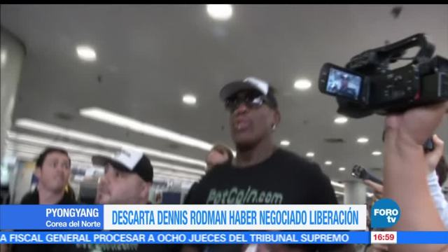 Dennis Rodman, visita, Corea del Norte,exjugador de la NBA,