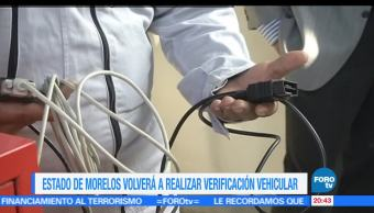noticias, forotv, obligatoria, verificación, Morelos, verificación vehicular