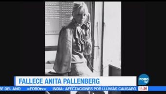 musa de los Rolling Stones, Anita Pallenberg, falleció en Londres, 73 años