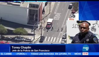 noticias, forotv, seis muertos, tiroteo, empresa, San Francisco