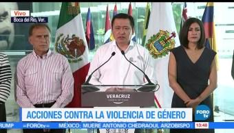 noticias, forotv, Osorio Chong, anuncia acciones, contra, violencia de género