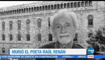 Raúl, Renán, poeta, dejó, huella, cukltura