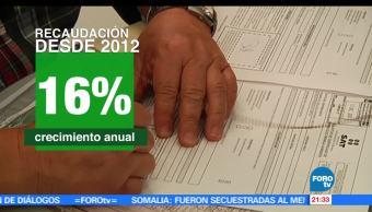 En México, 60 millones, contribuyentes, SAT, recaudación, impuestos