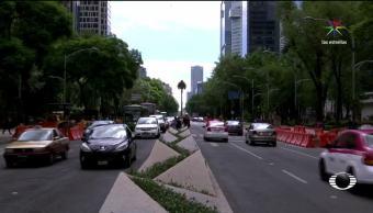 Caos, malestar, Metrobús, Reforma, ciudad de México, Miguel Mancera