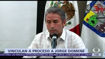 Vinculan a proceso, Jorge Domene, exvocero,