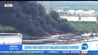 noticias, forotv, utilizar, cubrebocas, Salina Cruz, incendio en refinería