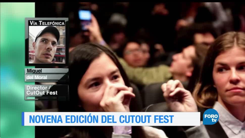 noticias, forotv, novena edición, CutOut Fest, Festival Internacional de Animación y Arte Digital, convocatoria