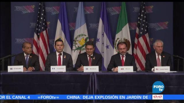 noticias, forotv, México y EU, destacan importancia, seguridad, América Central
