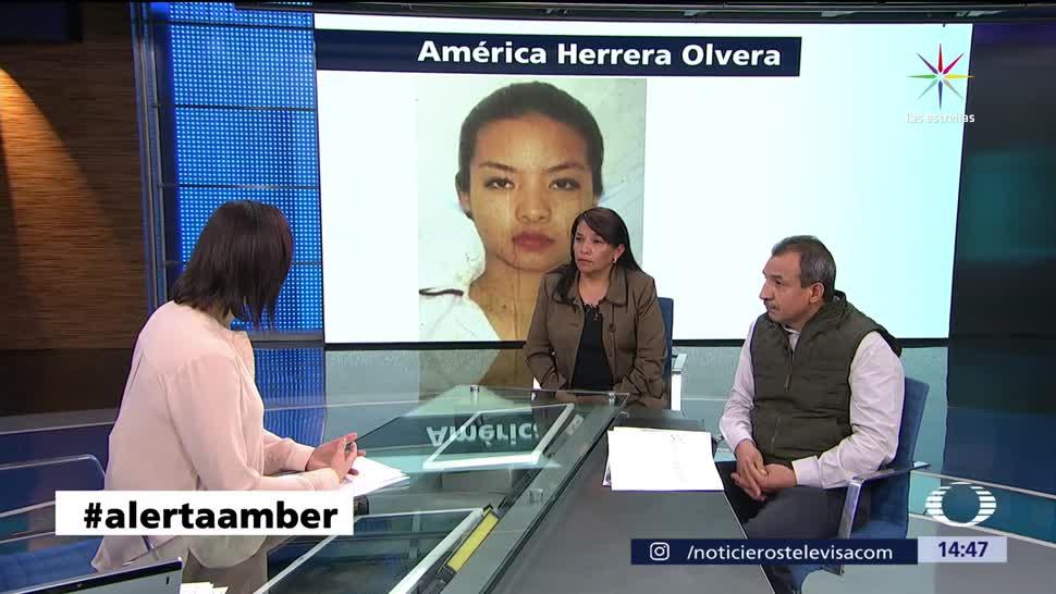 noticias, televisa, caso, América Herrera, chica desaparecida, desaparición de la joven