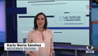 noticias, televisa, Las noticias, con Karla Iberia, Programa, 16 de junio 2017