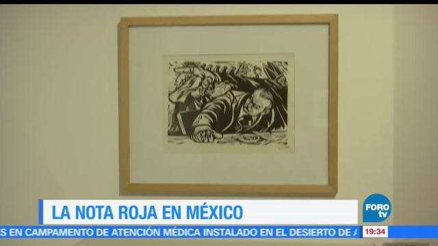 crónica, nota, roja, México, exposición, museo estanquillo