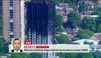 Revestimiento, agravó, incendio, Torre Grenfell, materiales consruccion, flamables