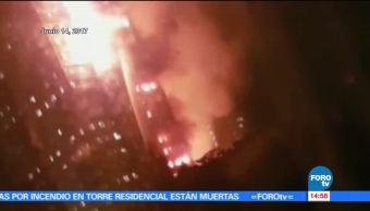 Andrea Montalvo, incendio, Las Noticias, Londres, Torre Grenfell