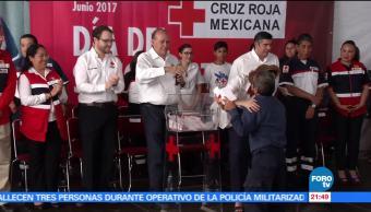 Cruz Roja, Mexicana, conmemora, Día, Socorrista, polanco