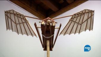 Exposiciones, Exposición, inventos, Leonardo, Da Vinci, Palacio de Minería