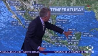 ciclón tropical, Golfo de México, norte de Yucatán, noroeste