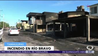 ciudad de Río Bravo, Tamaulipas, pipa con combustible, daños, casas