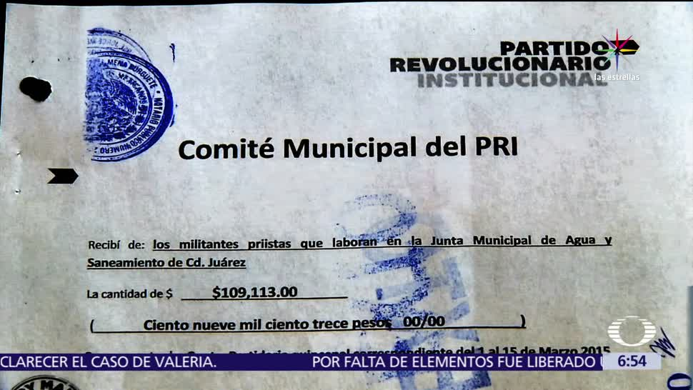 gobierno de César Duarte, descuentos irregulares, empleados, dinero desviado, PRI, Ciudad Juárez