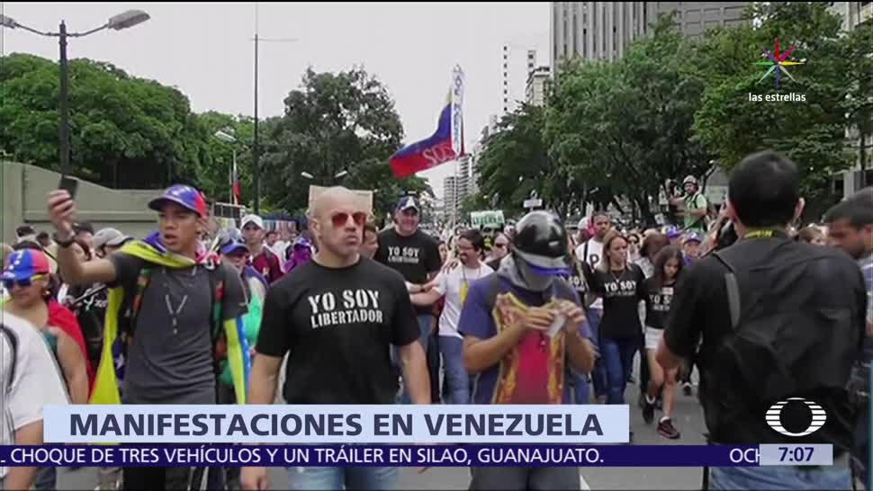 oposición de Venezuela, marcha, asamblea general, OEA, Cancún