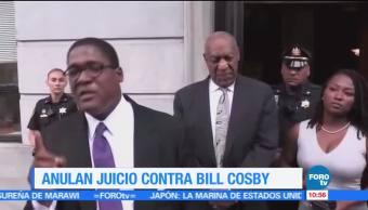juez, juicio nulo, acoso sexual, Bill Cosby