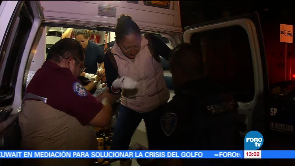 Un muerto, cuatro heridos, hechos violentos, CDMX