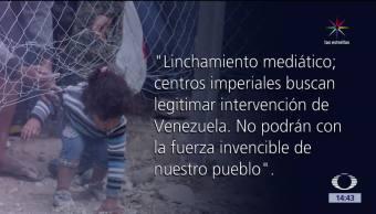 Canciller, Venezuela, arremete, contra la prensa de Holanda