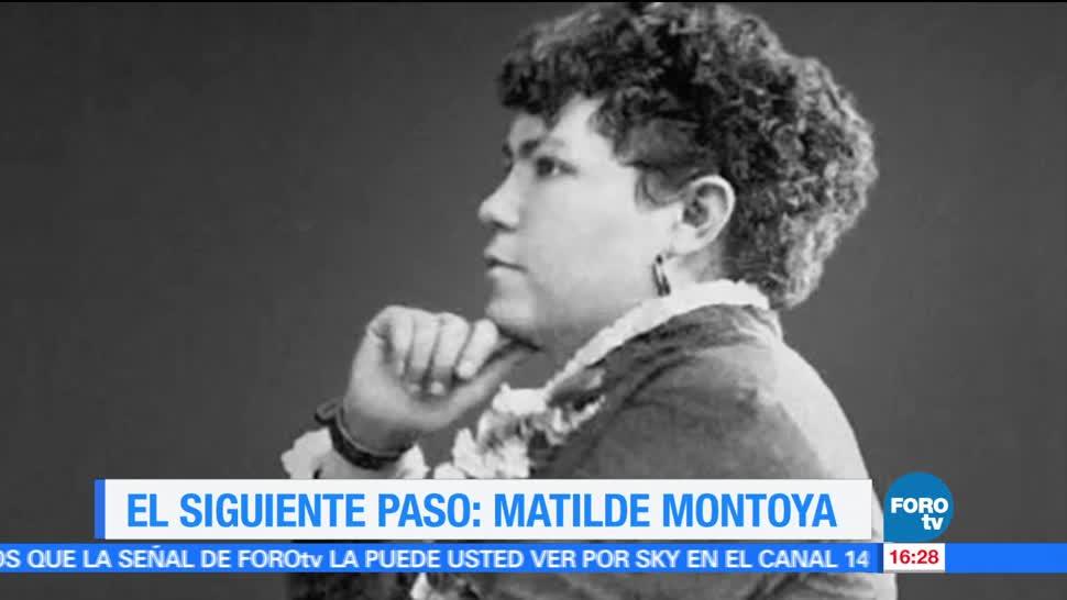 El Siguiente Paso, Matilde Montoya, primera médica mexicana