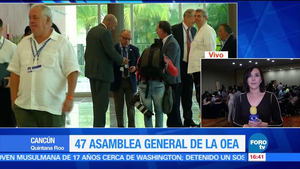 La canciller venezolana, Delcy Rodrígez, no reconocerá, decisión de la OEA