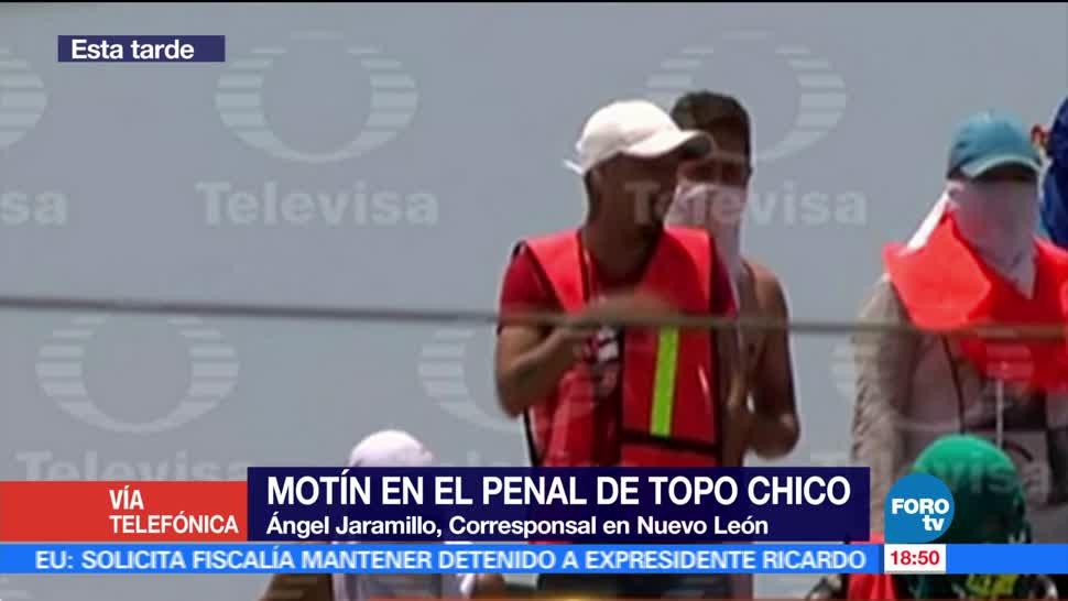 penal de Topo Chico, Hijos, riña, motín
