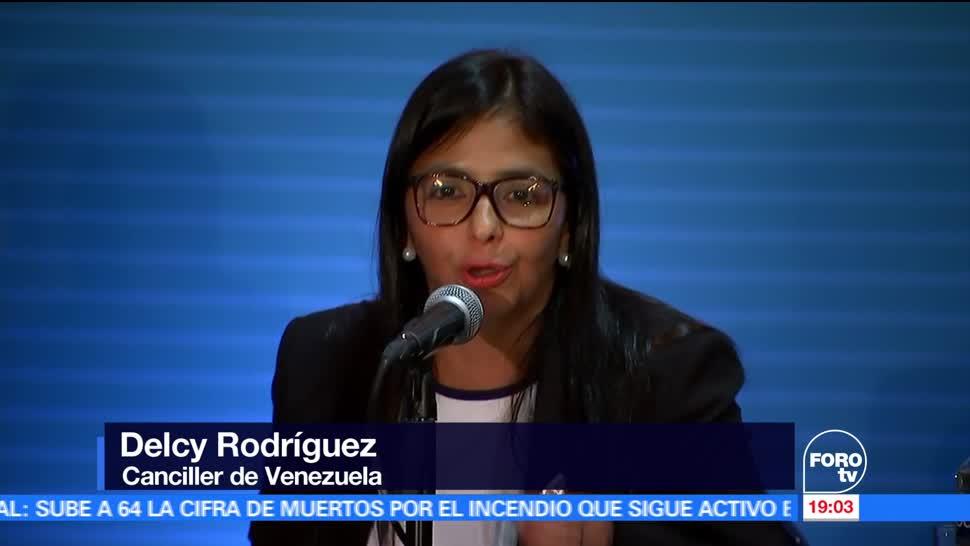 noticias, forotv, Venezuela, tutelaje, Delcy Rodríguez, OEA