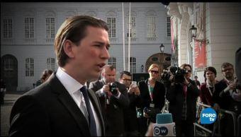 noticias, forotv, Austria, Sebastián Kurz, Ministro de Exteriores, Europa