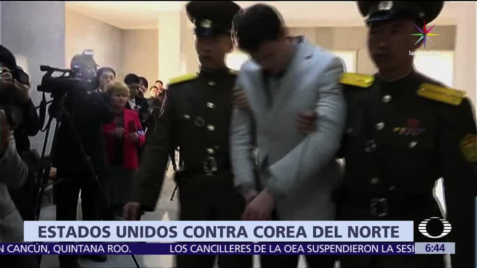 Muere Otto Warmbier, estudiante estadounidense, Corea del Norte, estudiante