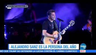 Alejandro Sanz, Persona del Año, Academia Latina, Grabación, 2017