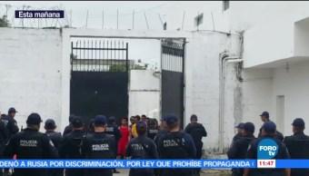 interno herido, motín, penal de Chetumal, traslado, Chetumal