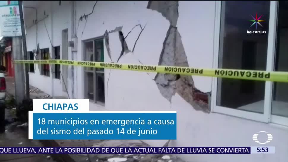 Chiapas, municipios, desastre por el sismo, sismo