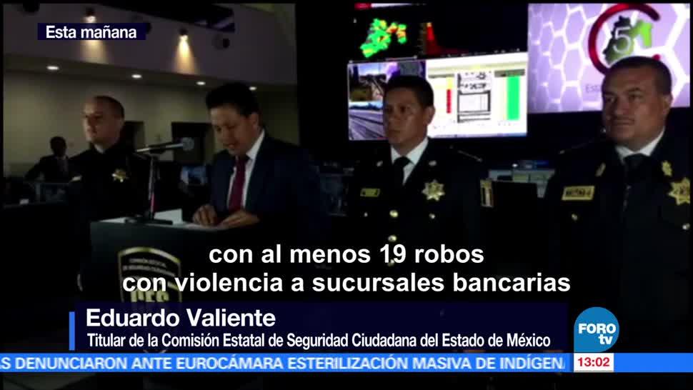 noticias, forotv, Detienen, asaltantes de bancos,operaban, Edomex, CDMX y Veracruz