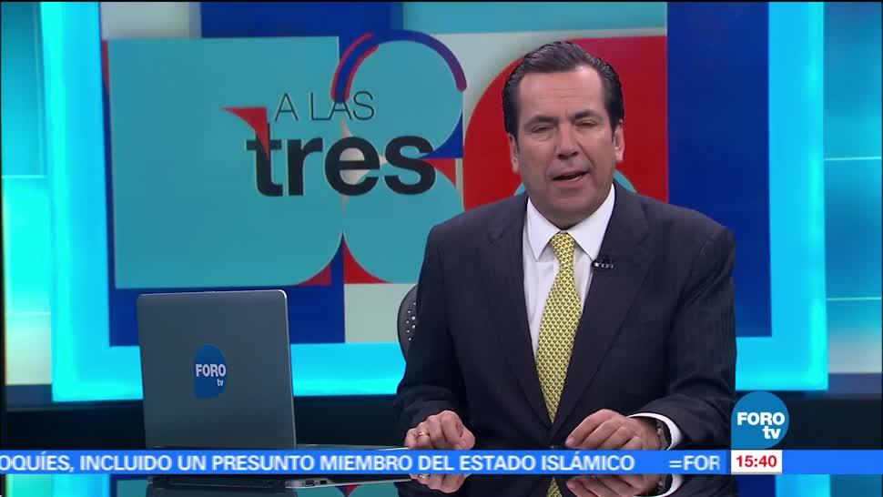 noticias, forotv, A las Tres, Programa, completo, 21 de junio de 2017