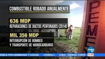 Robo, fugas, combustible, México, guanajuato, robo de gasolina