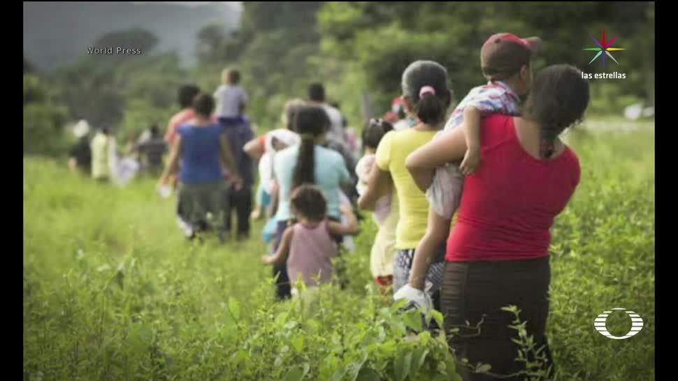 Los, desplazados, de, Chilapa, casas abandonadas, comunidad fantasma
