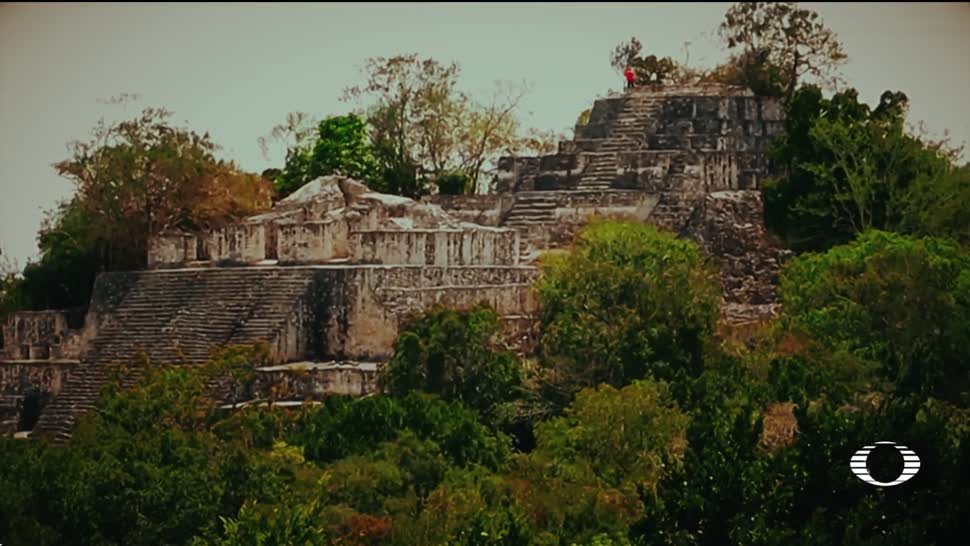 Descubren, ciudad, maya, Chactún, Campeche, Arqueología