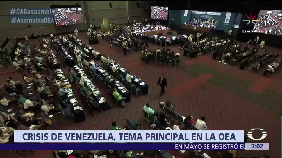 Asamblea General de la OEA, Cancún, crisis en Venezuela, Venezuela