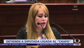 California, Lucero Sánchez, exdiputada de Sinaloa, presuntos vínculos, 'El Chapo'