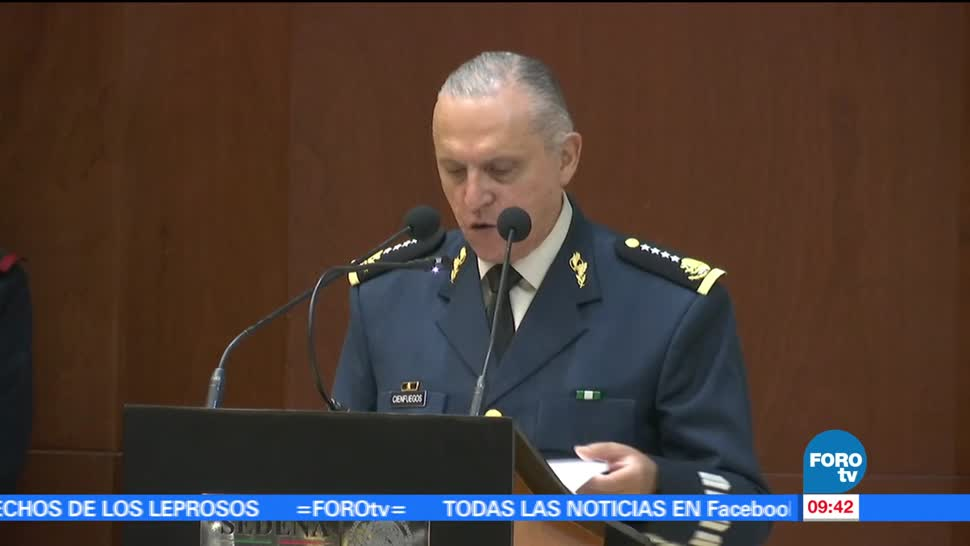 general Salvador Cienfuegos, titular, Defensa Nacional, corrupción
