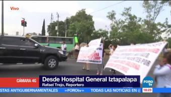 noticias, forotv, Protesta, personal médico, Hospital General, manifestación