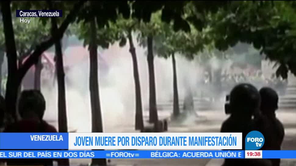 Muere, joven, durante, protestas, gobierno de Maduro, Caracas, Venezuela